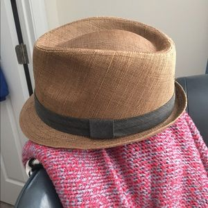 Accessories - Fedora straw hat